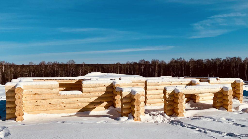 Самый хороший лес для строительства дома