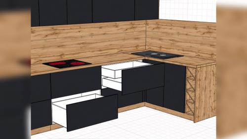 Дизайн кухонного гарнитура 2