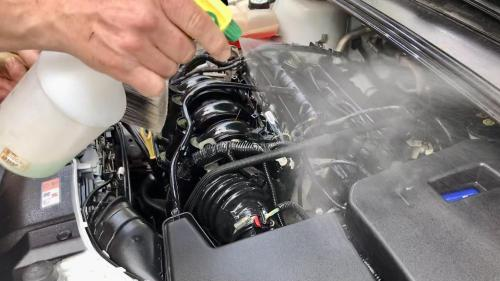 Консервация двигателя Ford