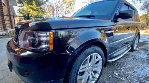 Полировка Range Rover