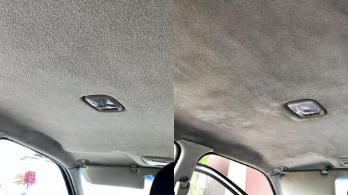 Химчистка потолка