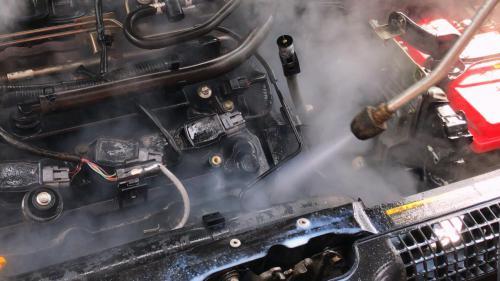 Мойка двигателя паром в Ижевске